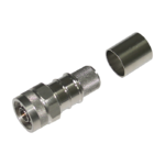 N Male Straight Crimp Connector for LMR-600 Coaxial Cable
