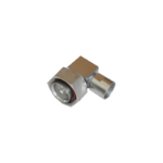 7/16 DIN Male Right Angle connector by Times for the LMR-400 cable series