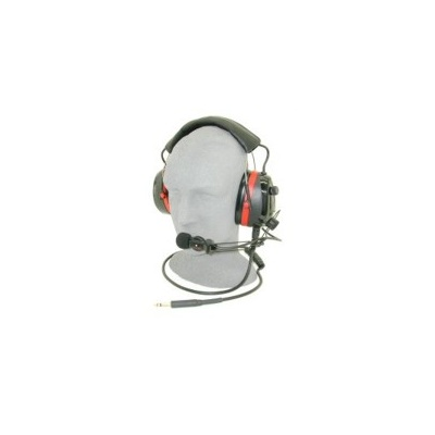 Headset, Noise Cancelling Microphone, High Visibilty